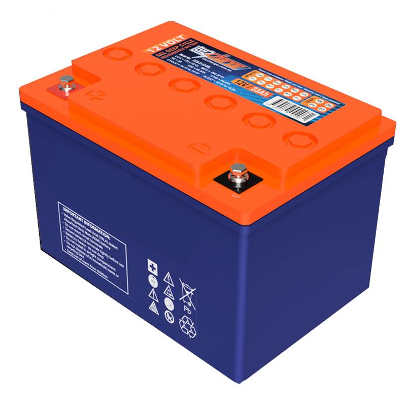 Battery -  80ah GEL, ea 1